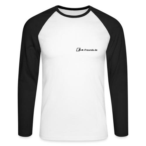 Langarm Shirt -schwarz- - Männer Baseballshirt langarm
