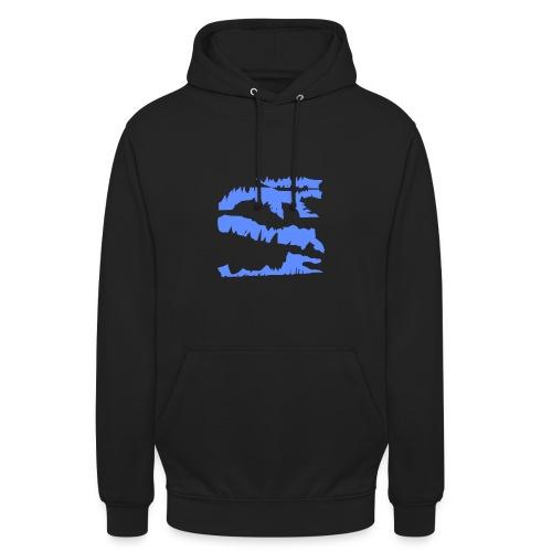 Blue Dragon Pullover Design - Unisex Hoodie