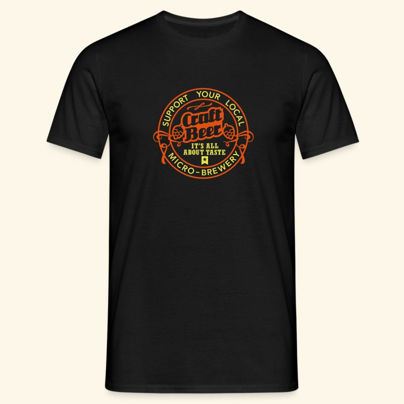 Craft Beer - Männer T-Shirt