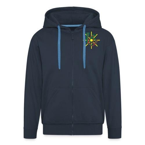 KJG St. Elisabeth Jacke navy-blau - Männer Premium Kapuzenjacke