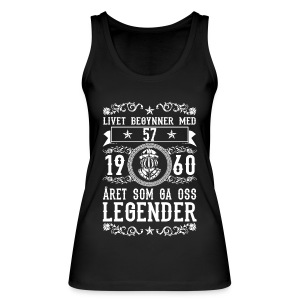 1960 - 57 ar - Legender - 2017 - NO Tops - Vrouwen bio tank top