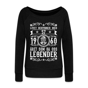 1960 - 57 ar - Legender - 2017 - NO Sweat-shirts - Pull Femme col bateau de Bella