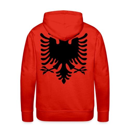Kosovo Hoodie - Großer Adler auf dem Rücken - Men's Premium Hoodie