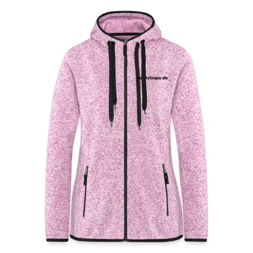 Fleece Women - Frauen Kapuzen-Fleecejacke