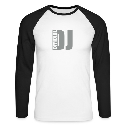 Official DJ - Longsleeved shirt - Men's Long Sleeve Baseball T-Shirt