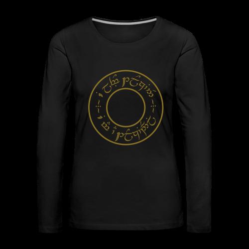 T-shirt manches longues Femme - T-shirt manches longues Premium Femme