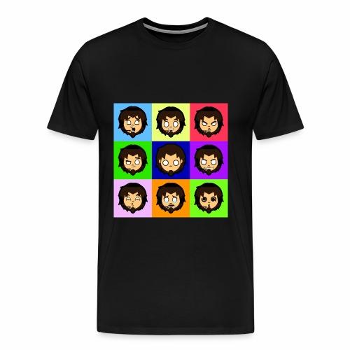 Moody Gamer - Men's Premium T-Shirt