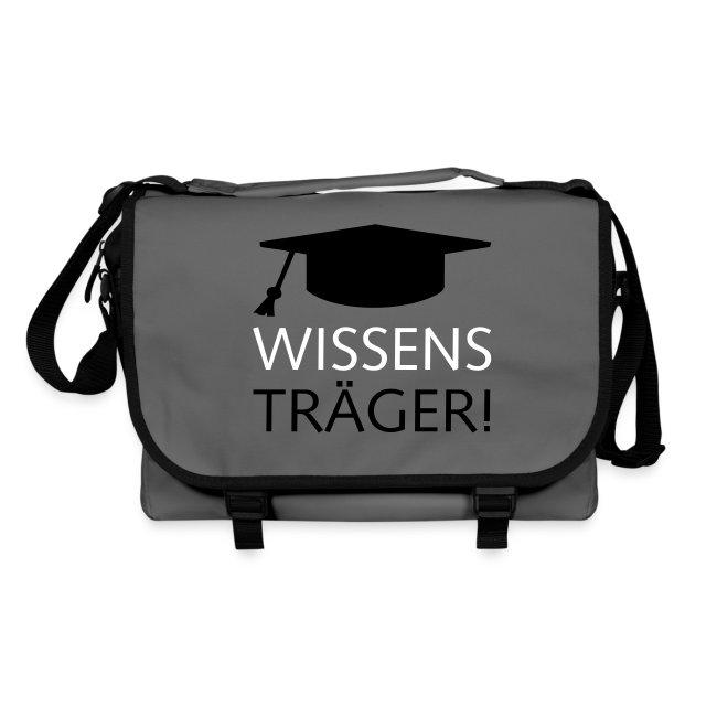 """Umhängetasche """"Wissensträger Hut"""""""