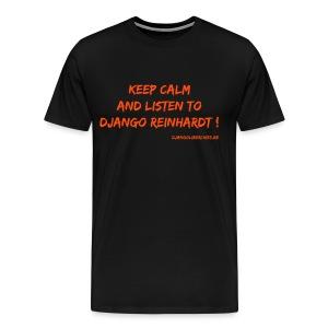 Django R/ Keep calm - T-shirt Premium Homme