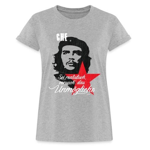 Che Guevara Sei realistisch - Frauen Oversize T-Shirt