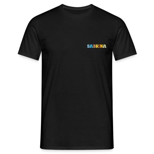 Sabrina, Herren T-Shirt, XL, schwarz - Männer T-Shirt