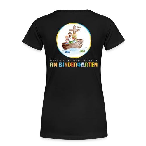 Julia, Premium, S, schwarz - Frauen Premium T-Shirt