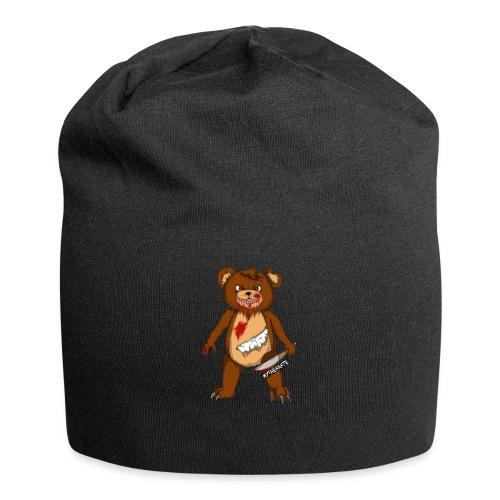 MythenAkte - Beanie - creepy bear - Jersey-Beanie