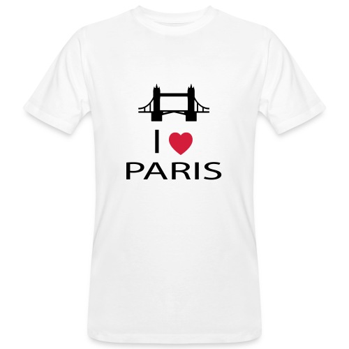 I love Paris - T-shirt bio Homme