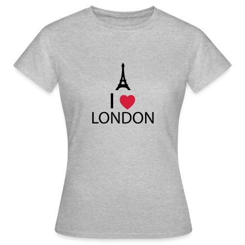 I love London - T-shirt Femme