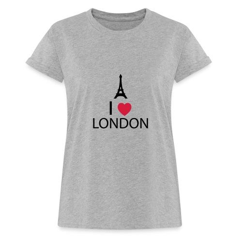 I love London - T-shirt oversize Femme