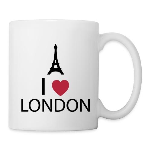 I love London - Mug blanc