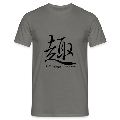Biodanzashirt Lebensfreude - Männer T-Shirt
