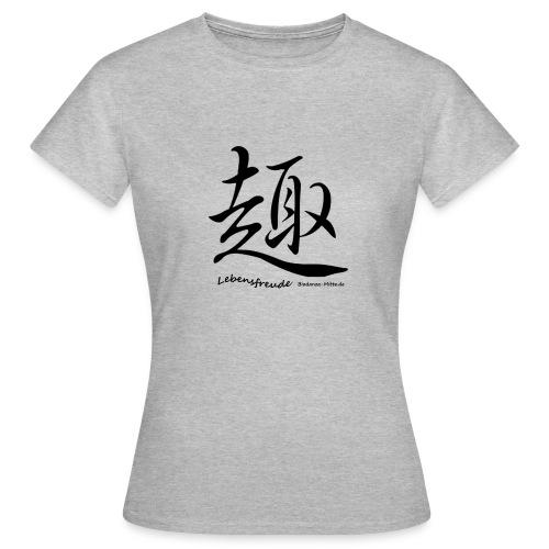 Biodanzashirt Lebensfreude - Frauen T-Shirt