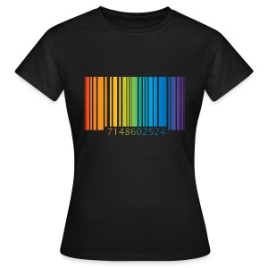 T-Shirt gay code bar - Women's T-Shirt