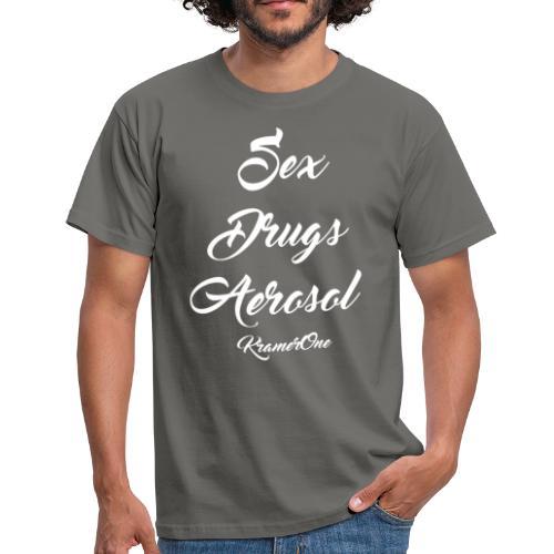 Sex Drugs Aerosol Shirt - Männer T-Shirt