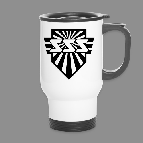 Travel Mug | Sonic Speed Soldiers Logo - Thermobecher