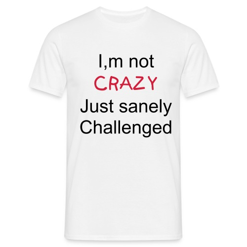 challenged - Men's T-Shirt