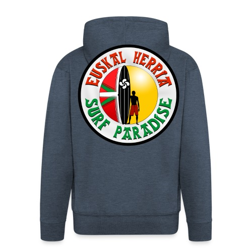Euskal Herria Surfing - Men's Premium Hooded Jacket