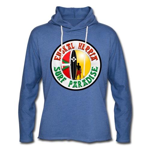 Euskal Herria Surfing - Sweat-shirt à capuche léger unisexe