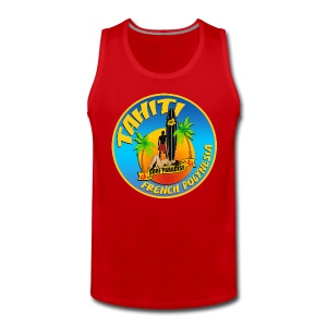 Tahiti Surfing Team - Men's Premium Tank Top