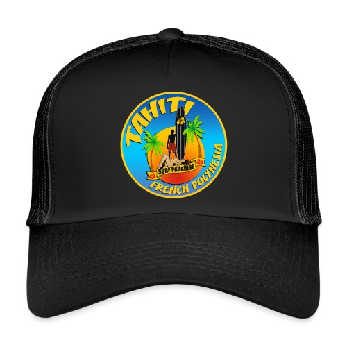Tahiti Surfing Team - Trucker Cap