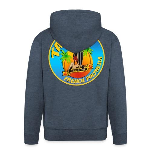 Tahiti Surfing Team - Men's Premium Hooded Jacket