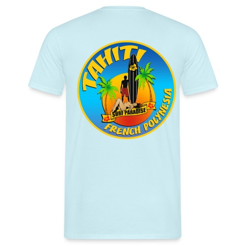 Tahiti Surfing Team - Men's T-Shirt