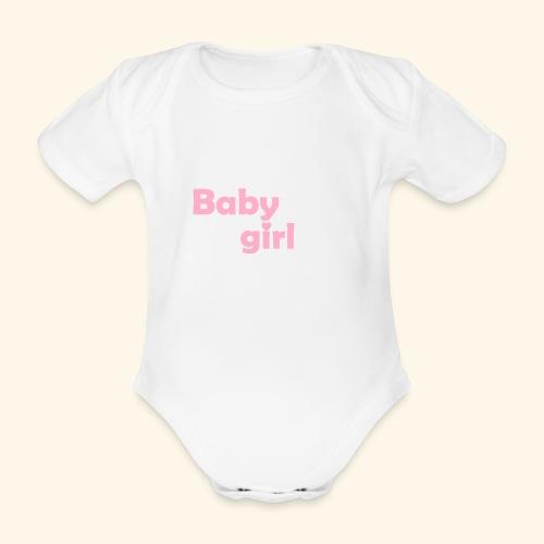 Bio-Body Baby Girl, kurzärmlig - Baby Bio-Kurzarm-Body