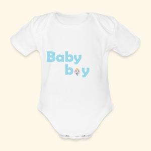 Bio-Body Baby Boy, kurzärmlig - Baby Bio-Kurzarm-Body