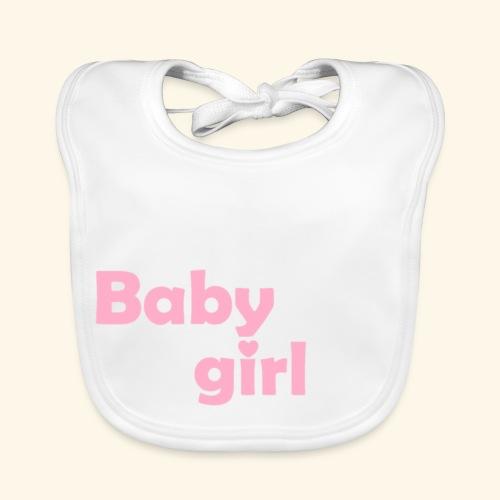 Baby Girl Baby Lätzchen - Baby Bio-Lätzchen