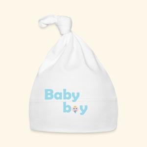 Zipfelmütze  / Jelly Bag Cap  Baby Boy, weiss - Baby Mütze