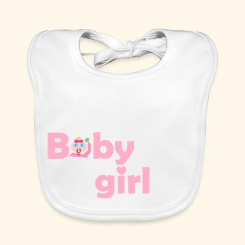 Lätzchen / Bib Baby Girl Face - Baby Bio-Lätzchen