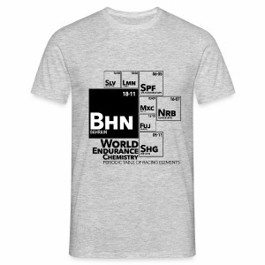 World Endurance Chemistry : periodic table of racing elements - T-shirt Homme