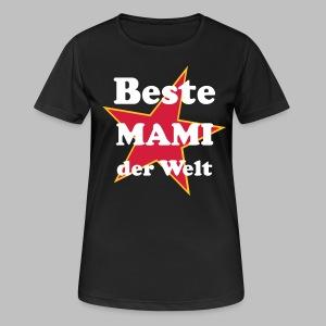 Beste MAMI der Welt - Mit Stern ★ - Frauen T-Shirt atmungsaktiv