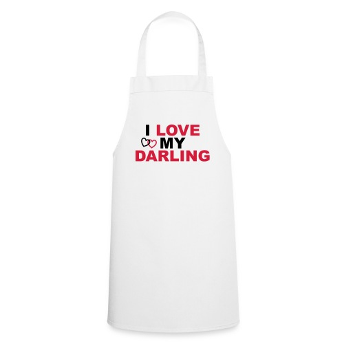 I LOVE MY DARLING - Kochschürze