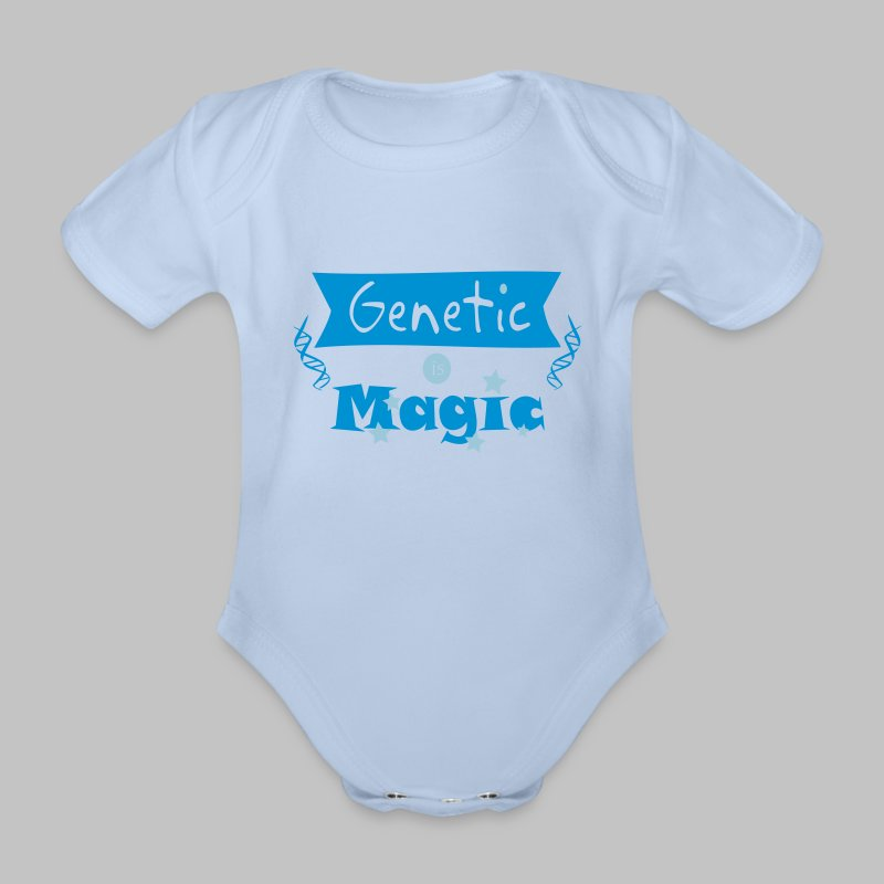 Body bébé Genetic is Magic - Organic Short-sleeved Baby Bodysuit