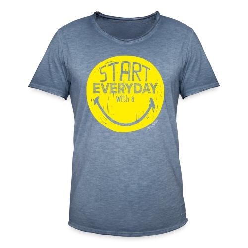 rebel - Männer Vintage T-Shirt