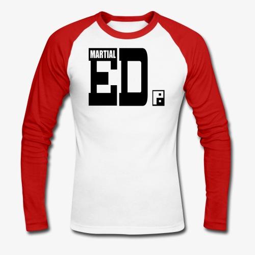 MEN'S LONG SLEEVE CONTRAST - Men's Long Sleeve Baseball T-Shirt