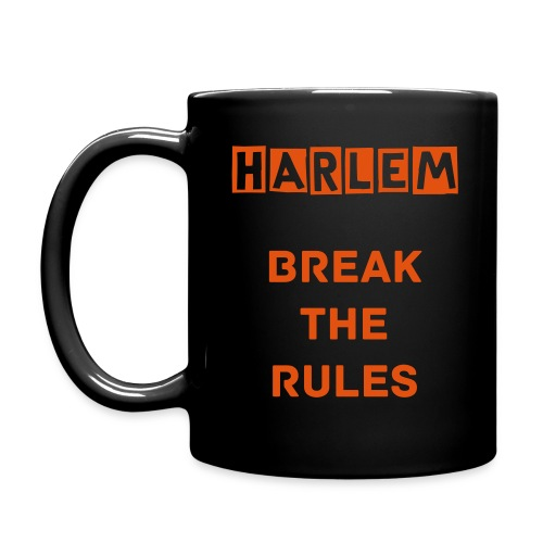 Break The Rules Mug Black - Tazza monocolore