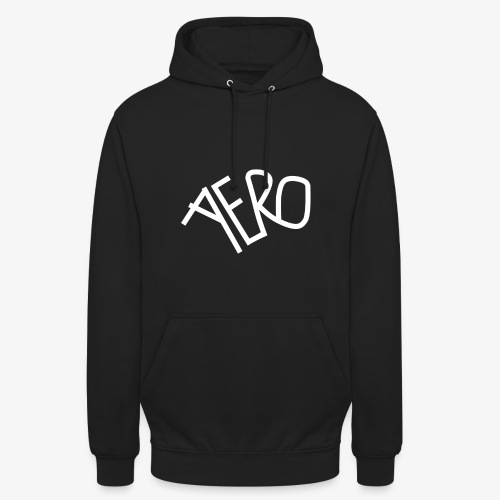 Aero | Unisex Hoodie /w white print - Unisex Hoodie