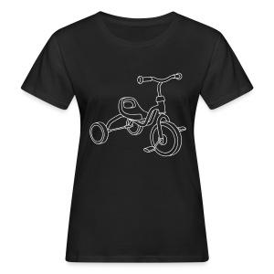 Kinderdreirad - Frauen Bio-T-Shirt