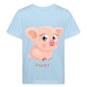Pouiki le petit cochon - T-shirt bio Enfant