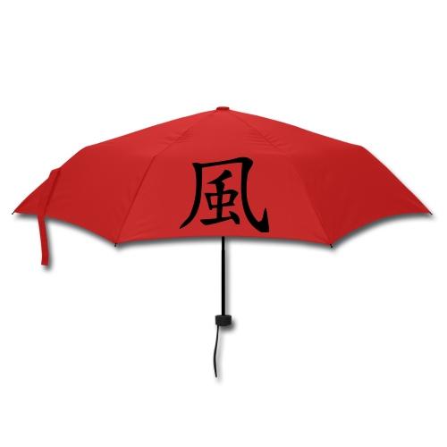 Parasol z chińskim pismem deszcz i dmuch - Parasol (mały)
