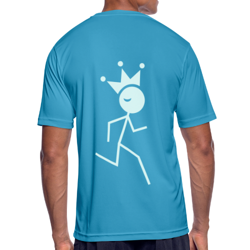 Hardloopkoning shirt ademend - mannen T-shirt ademend